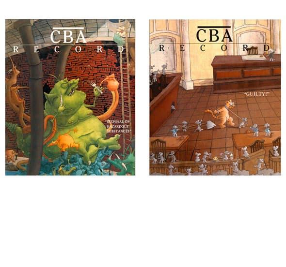 CBA record covers