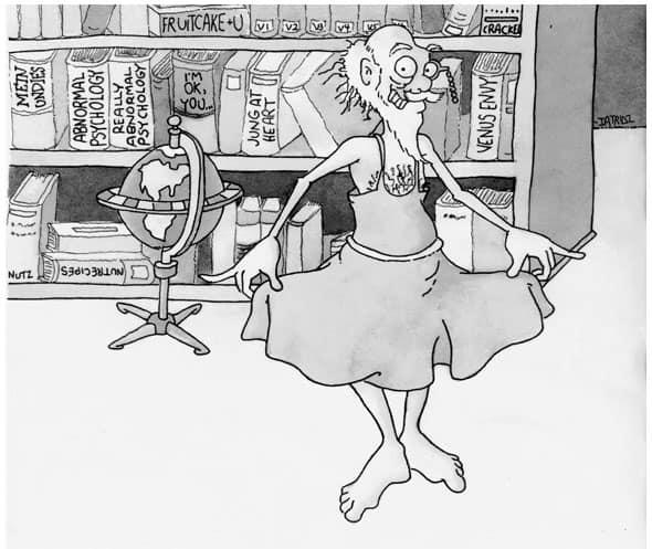 fruedian slip cartoon