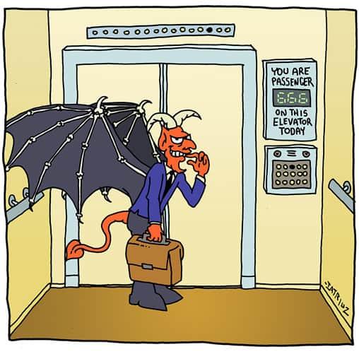 humorous illustration borrowed interest